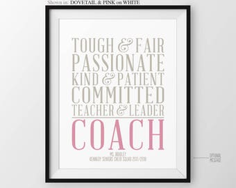 Gift for Coach Thank You Cheer Coach Gift from Team Gift for Football Coach Gift for Basketball Coaches Baseball Team Gift Soccer Coach Gift