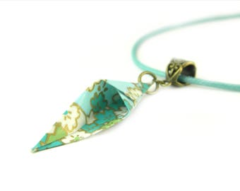 Origami necklace Cancan
