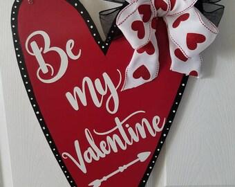 Valentine door hanger