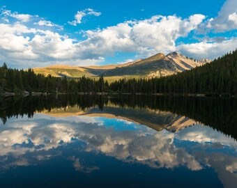 Colorado Photography | Bear Lake in Rocky Mountain National Park | Nature Photography | Longs Peak | Landscape Photography l RMNP