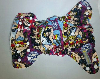 Wonder Woman Fitted, AIO or Pocket Diaper