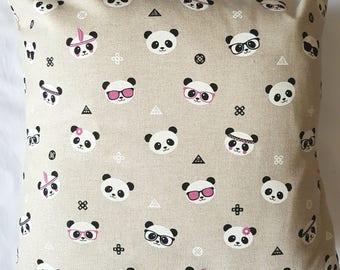 Panda Cushion Cover
