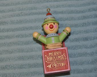 Hallmark 1977 Merry Christmas Ornament.