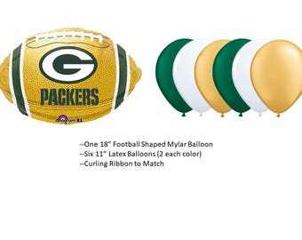 Green Bay Packers Balloons