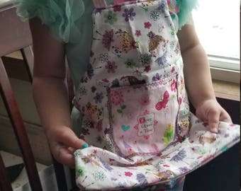 Toddler  reversible apron