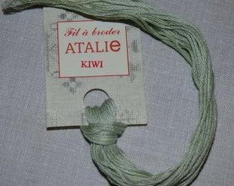 Embroidery FLOSS stranded Kiwi colour ATALIE