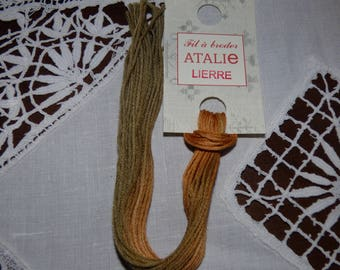 Embroidery FLOSS stranded Ivy colour ATALIE