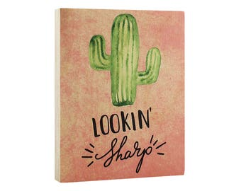 Cactus Decor for Bathroom or Gift for Girl - Decoration is Lookin' Sharp