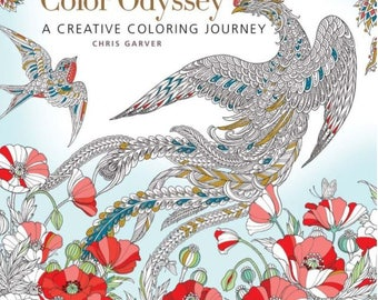 Color Odyssey: A Creative Coloring Journey (Colouring Books)
