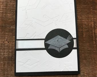 Graduation Card- can be personalized to any school color!