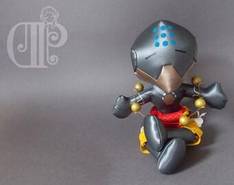 Zenyatta Overwatch Plush Doll Plushie Toy