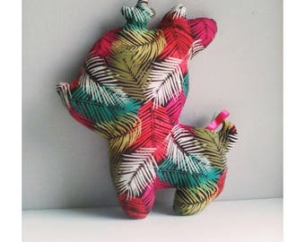 Decoration / Jungle plush deer collectible