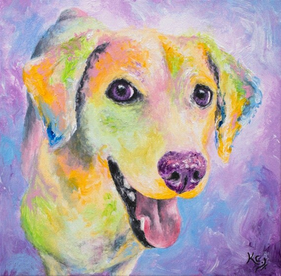 "Dog Art - Dog Art Gifts, Dog Print, Dog Owner Gift, Dog Wall Art, Dog Gift, Dog Lover Gift, Pop Art Dog Print ""Kali"""