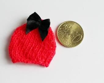 Mini-bonnet baby polymer clay
