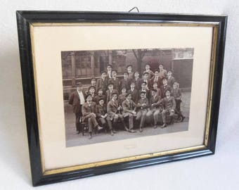 Student Memorabilia Braunschweig - Paul Glaue - Framed Photo - Around 1920