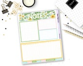 7005-NK-B // Fold Out EC Notes Kit // Aloha Collection // Planner Stickers