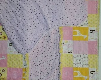 Girl Baby/toddler blanket