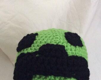 Minecraft, child, toddler, hat, cap