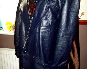 Vintage ladies real leather jacket