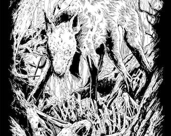Original Mutilation Rites Drawing