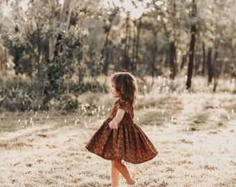 Vintage Woodland Dress