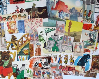 fairy tale ephemera for junk journals, mixed media ephemera, art journals, collage and altered art, fairy tale themed ephemera