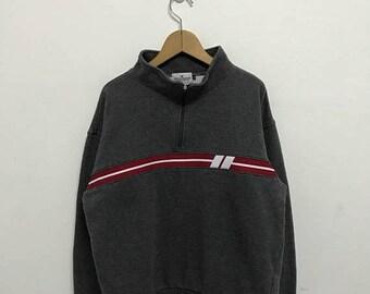 BIG SALE Vintage Sergio Tacchini Half Zipper Sweatshirt/Sergio Tacchini Sportwear/Sergio Tacchini Pullover/Sergio Tacchini Sweater
