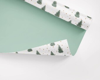 5x Wrapping Paper / Tanne