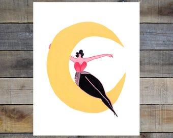 Liz Long Creature Comfort Print #8 8-10in Giclée Print