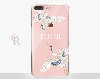 Personalised Clear Phone Case For iPhone 8 iPhone 8 Plus iPhone X Phone 7 Plus iPhone 6 iPhone 6S  iPhone SE Samsung S8 iPhone 5 custom case