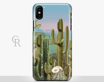 Cactus Phone Case For iPhone 8 iPhone 8 Plus iPhone X Phone 7 Plus iPhone 6 iPhone 6S  iPhone SE Samsung S8 iPhone 5 Animal Floral Palm