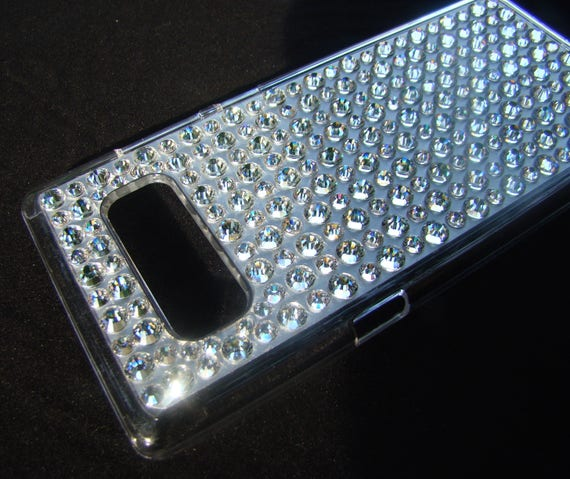 Galaxy Note 8 case, Big Clear Crystals on Clear Transparent case for Galaxy Note 8. Rangsee Crystal Ca