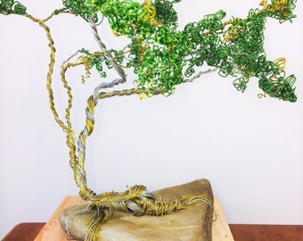 Serengeti Inspired Copper Wire Tree