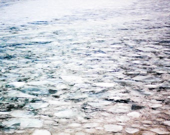 Lake Erie - Ice - Abstract