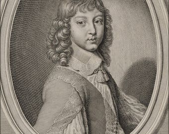 Poster, Many Sizes Available; Young King Louis Xiv Of France By Rousselet 17Th Cent