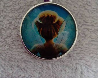 Tinkerbell necklace / tinkerbell