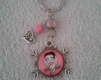 Keychain or handbag Betty