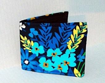 Women's Bifold Vegan Wallet handmade