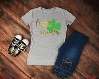 Lucky Charm Shamrock shirt/ St. Patrick's Day shirt