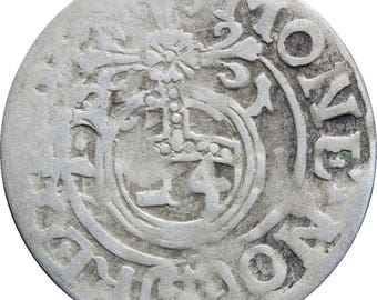 1621 Półtorak 3 Polker Sigismund III Polish–Lithuanian Commonwealth Silver Coin