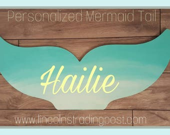 Personalized Mermaid Tail