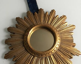 Miroir convexe etsy for Miroir convexe