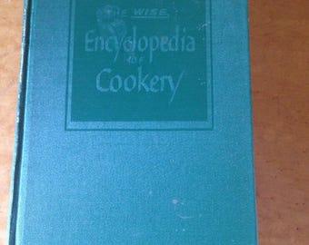 Vintage 1951 Encyclopedia Cookbook