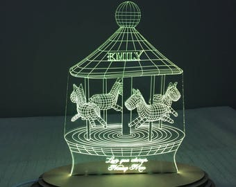 Carousel Night Light