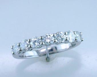 1.00ct Diamond 14K White Gold Engagement Wedding Ring