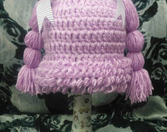 Gorgeous Cabbage Patch Hat 6-12 months, great for photo shoots, dressing up...Free P&P