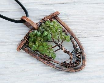 7th Anniversary Gift - Copper Anniversary - 7 Year Anniversary - 7 Year - Anniversary 7th - Copper Gift Ideas - Love Birds Tree - Wire Tree
