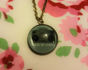 The Lost Boys inspired Death by Stereo Pendant Necklace
