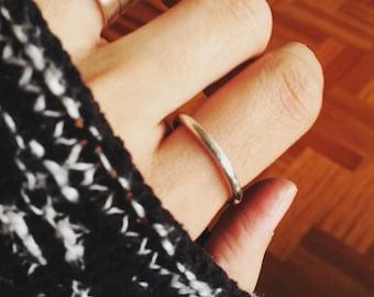 Hopp ring , band ring , alliance ring  , simple ring , stacking ring