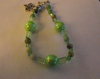Beaded Hand made Agate bracelet